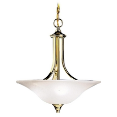 Kichler Lighting Kichler Pendant Light in Brass Finish 3502PB