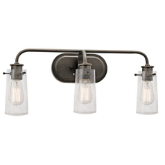 Kichler Lighting Braelyn Olde Bronze Bathroom Light