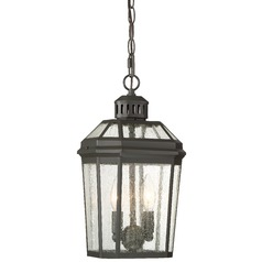 Minka Hawk's Point Oil Rubbed Bronze Outdoor Hanging Light