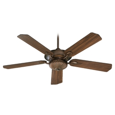 Quorum Lighting Bakersfield Corsican Gold Ceiling Fan Without Light