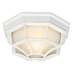 Kichler Outdoor Ceiling Light in White Finish