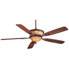 60-Inch Ceiling Fan with Five Blades and Light Kit