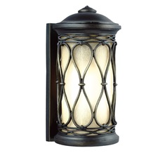 Feiss Lighting Wellfleet Aged Bronze Outdoor Wall Light
