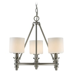 Golden Lighting Beckford Pw Pewter Mini-Chandelier