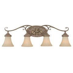 Avenant French Bronze Bathroom Light by Vaxcel Lighting