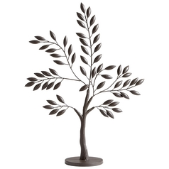 Cyan Design Sapling Tree Graphite Sculpture