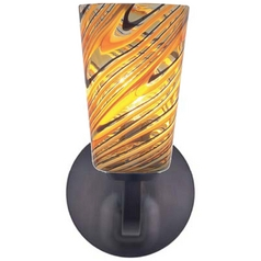Oggetti Lighting Carnivale Satin Nickel Sconce
