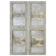 Uttermost Antique Venetian Views, Set of 4