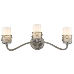 Golden Lighting Joia Peruvian Silver Bathroom Light