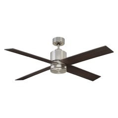 Savoy House Lighting Dayton Satin Nickel LED Ceiling Fan with Light