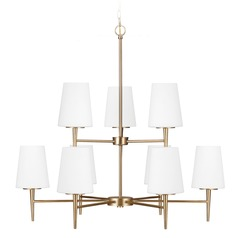 Sea Gull Lighting Driscoll Satin Bronze Chandelier