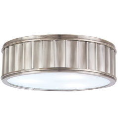 Flushmount Light in Historic Nickel Finish