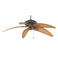 Fanimation Fans Ceiling Fan Without Light in Aged Bronze Finish FP4320AZ1