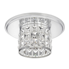Decorative Crystal Ceiling Trim for Recessed Lighting