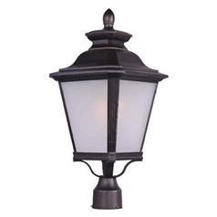 Maxim Lighting Knoxville Ee Bronze Post Light
