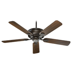 Quorum Lighting Barclay Oiled Bronze Ceiling Fan Without Light