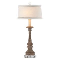 Aidan Gray Home Rustic Wood Table Lamp Set