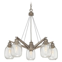 Savoy House Industrial Steel Chandelier