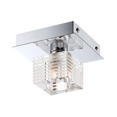 Alico Lighting Quatra Chrome Semi-Flushmount Light