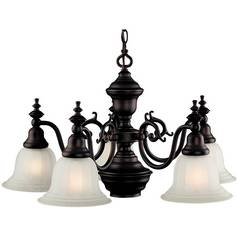 Dolan Designs Lighting Six-Light Chandelier 660-30