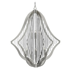 Frederick Ramond Bijou Polished Nickel Chandelier