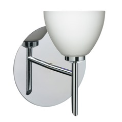 Besa Lighting Divi Chrome Sconce