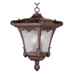 Livex Lighting Millstone Imperial Bronze Outdoor Hanging Light
