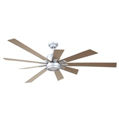 Craftmade Lighting Katana Titanium LED Ceiling Fan with Light