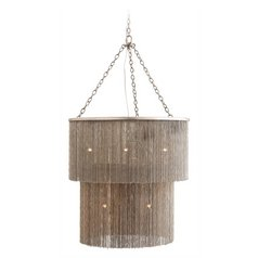 Arteriors Home Lighting James Antique Nickel Pendant Light