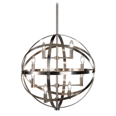 8-Light Modern Orb Pendant