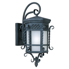 Maxim Lighting Scottsdale Ee Country Forge Outdoor Wall Light