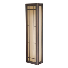 Oak Park Sienna Bronze Sconce by Vaxcel Lighting
