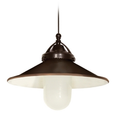 WAC Lighting Early Electric Collection Dark Bronze LED Track Pendant