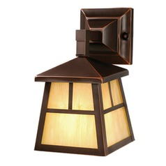 Mission Burnished Bronze Outdoor Wall Light by Vaxcel Lighting