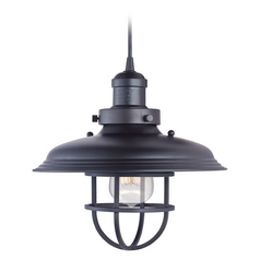 Maxim Lighting Mini Hi-Bay Bronze Pendant Light