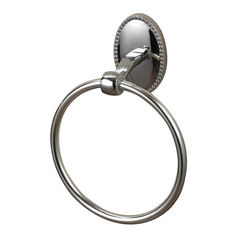 Sterling Lighting Chrome Towel Ring