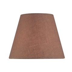 Linen Empire Lamp Shade with Clip-On Assembly
