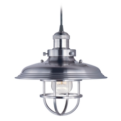 Maxim Lighting Mini Hi-Bay Satin Nickel Pendant Light