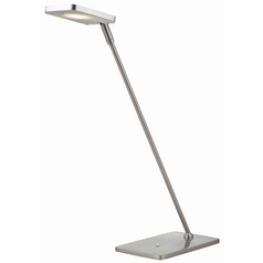 Pex Satin Nickel LED Task Lamp
