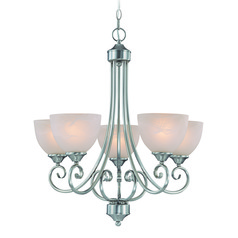 Craftmade Raleigh Satin Nickel Chandelier