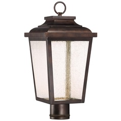 Minka Lavery Irvington Manor Chelesa Bronze Post Light
