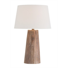 Arteriors Home Lighting Jaden Washed Tobacco Table Lamp with Empire Shade