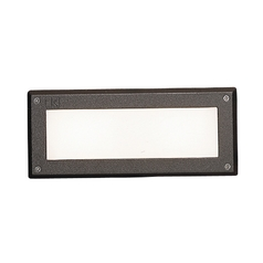 Kichler LED Recessed Step Light in Bronze Finish