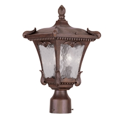 Livex Lighting Millstone Imperial Bronze Post Light