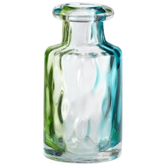 Cyan Design Rigby Green Blue & Clear Vase
