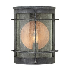 Hinkley Lighting Newport Aged Zinc Outdoor Wall Light