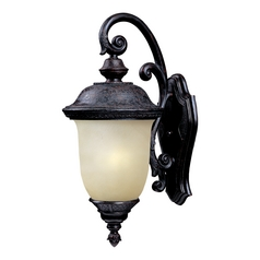 Maxim Lighting Carriage House Ee Oriental Bronze Outdoor Wall Light