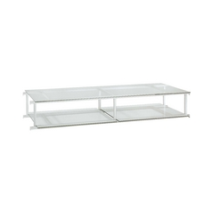 Modern Shelving in Silver Finish
