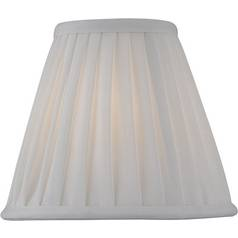Pleated Empire Lamp Shade with Clip-On Assembly