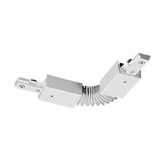 Juno Lighting Group Juno Trac-Master Accordion Adjustable Joiner for Single Circuit Track T20WH